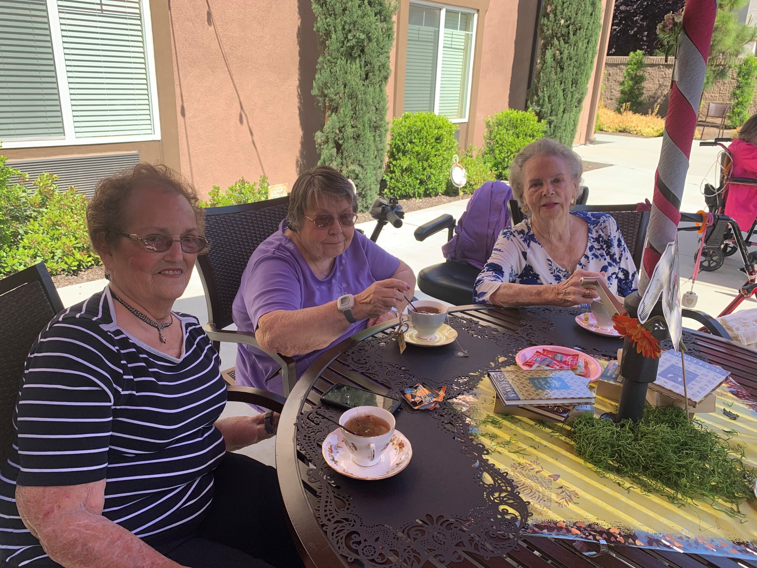 Happy Mother's Day Tea at Paintbrush